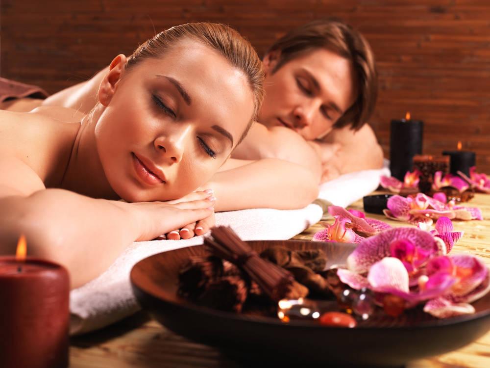 Los masajes en pareja